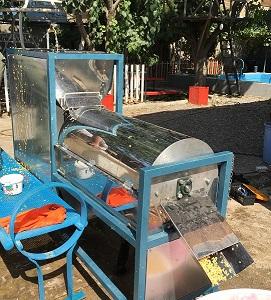 دستگاه شستشوی بذر خربزه، طالبی و گوجه فرنگی، مدل F.K402